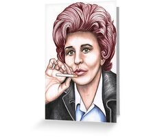 Strong women characters of Coronation Street : Elsie Tanner Greeting Card