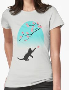 Spring Cat Womens Fitted T-Shirt