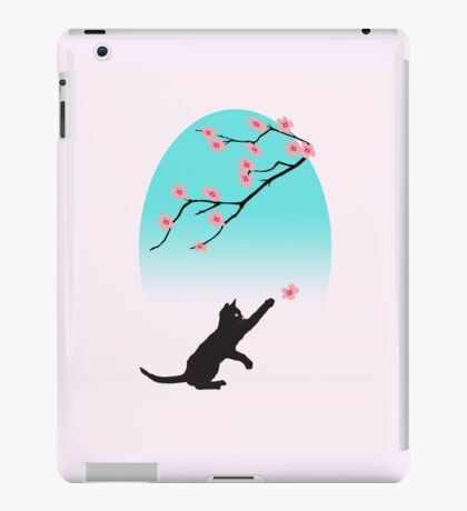 Spring Cat iPad Case/Skin