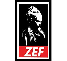 Zef Photographic Print