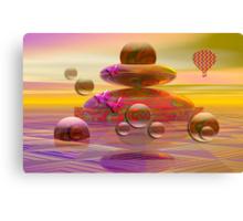 The balloon trip Canvas Print