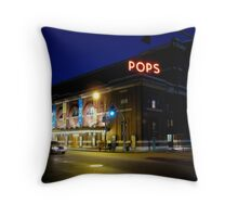 Symphony Hall at Night Throw Pillow