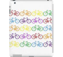 Rainbow Bikes  iPad Case/Skin