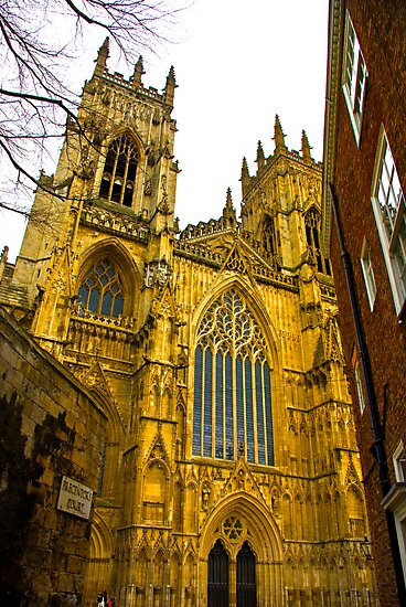 York Minster by Trevor Kersley