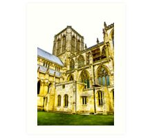 Central Tower - York Minster Art Print