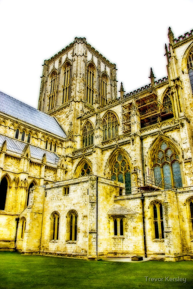 Central Tower - York Minster by Trevor Kersley