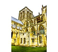 Central Tower - York Minster Photographic Print