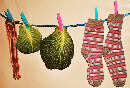 'Bacon, Cabbage and Stripey Socks' by Christine Lake