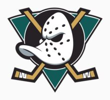 mighty ducks t-shirts logo hockey ice team by christian444