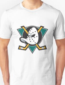 mighty ducks t-shirts logo hockey ice team T-Shirt