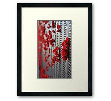 Poppy 6 by stellaclay Framed Print