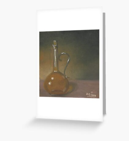 Bottle of Olive Oil #1 Greeting Card
