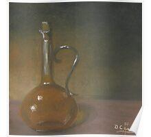 Bottle of Olive Oil #1 Poster