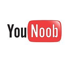 YouTube Parody - You Noob - Internet Meme Shirt by bleedart
