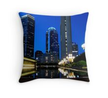 City's Reflection Throw Pillow