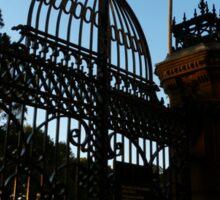 Gateway to the Palace Gardens Sticker
