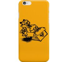 calvin hobbes superman style iPhone Case/Skin