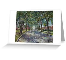 Along The Azalea Trail Greeting Card