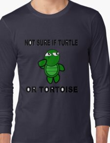 Confused Turtle Long Sleeve T-Shirt
