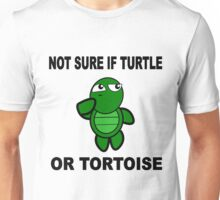 Confused Turtle Unisex T-Shirt