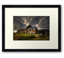 Kirk at Cill Chriosd, ( Kilchrist ) . Isle of Skye, Scotland. Framed Print