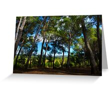 French Woodland Greeting Card