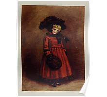 Kate Greenaway Collection 1905 0063 Watercolor Drawing Winter 1812 Poster