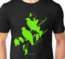 Green Rose-crowned fruit dove Unisex T-Shirt