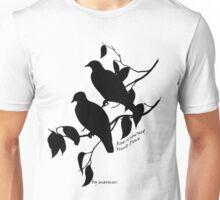 Black Rose-crowned fruit dove Unisex T-Shirt