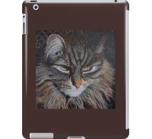 Monty the Norwegian Forest Cat iPad Case/Skin