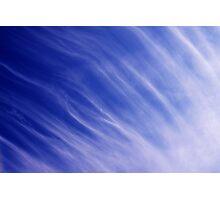 Nature's blue Photographic Print