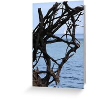 Maritime Roots Art Greeting Card