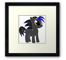 Sonic the pony Framed Print