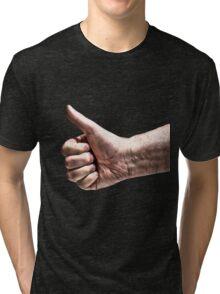 A Big Thumbs Up Tri-blend T-Shirt