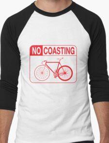 No Coasting Men's Baseball ¾ T-Shirt