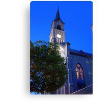 St. Mary Catholic church-3 Canvas Print