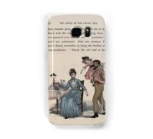 The Queen of Pirate Isle Bret Harte, Edmund Evans, Kate Greenaway 1886 0060 Struck Old Lead at Last Samsung Galaxy Case/Skin