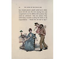 The Queen of Pirate Isle Bret Harte, Edmund Evans, Kate Greenaway 1886 0060 Struck Old Lead at Last Photographic Print