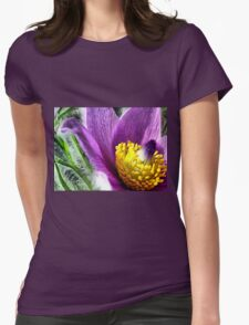 Flower Power -  Womens Fitted T-Shirt