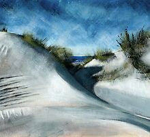 Sunny Sand Dunes by Ben Durrant