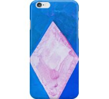Violet Crystal Sea: abstract watercolor painting iPhone Case/Skin