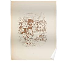 Rhymes for the Young Folk William and Hellen Allingham art Kate Greenaway 0067 Ambition Poster