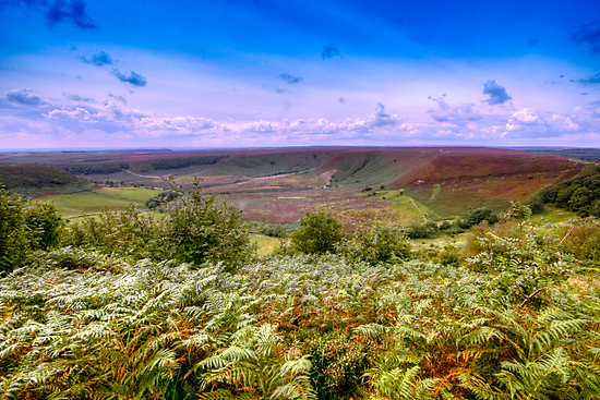 Hole of Horcum by Ray Clarke