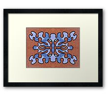 ABSTRACT 739 Framed Print