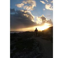 Into the sunset Photographic Print