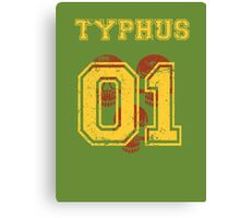 Team Captain: Typhus Canvas Print