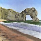 Durdle Door Summer's Day by Ben Durrant