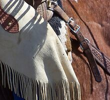 The Wild West - Tooled Leather by © Betty E Duncan ~ Blue Mountain Blessings Photography