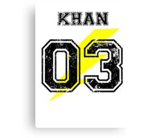 Team Captain: Khan Canvas Print