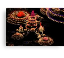 Space Mall Canvas Print
